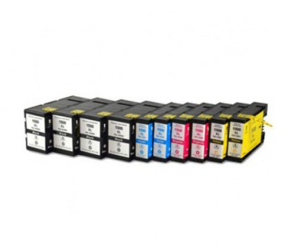 10 Tinteiros Compativeis, Canon PGI-1500 Preto 36ml + Cor 11.5ml