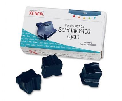 3 Tinteiros Originais, Xerox 108R00605 Cyan ~ 3.400 Paginas