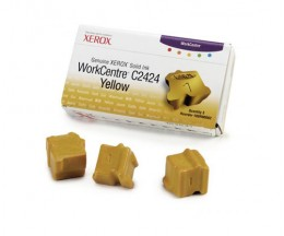 3 ColorSticks Originais, Xerox 108R00662 Amarelo ~ 3.400 Paginas