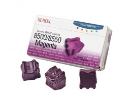 3 ColorSticks Originais, Xerox 108R00670 Magenta ~ 3.000 Paginas