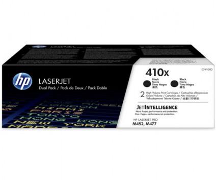 2 Toners Originais, HP 410X Preto ~ 6.500 Paginas