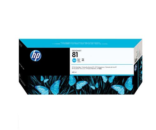 Tinteiro Original HP 81 Cyan 680ml ~ 1.000 Paginas