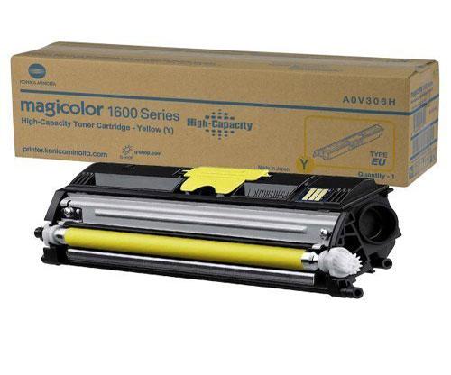 Toner Original Konica Minolta A0V306H Amarelo ~ 2.500 Paginas