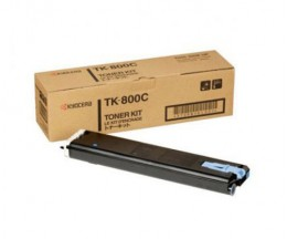 Toner Original Kyocera TK 800 C Cyan ~ 10.000 Paginas