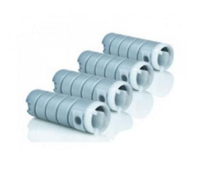 4 Toners Compativeis, Konica Minolta 8932614 Preto ~ 18.500 Paginas