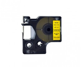Fita Compativel DYMO 40918 Amarelo 9mm x 7m