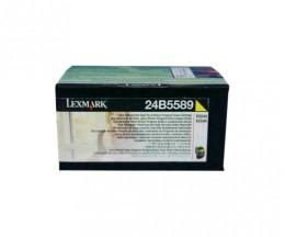 Toner Original Lexmark 24B5589 Amarelo ~ 3.000 Paginas