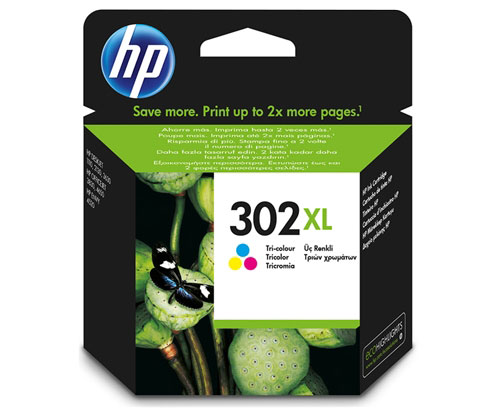 Tinteiro Original HP 302 XL Cor 8ml ~ 330 Paginas