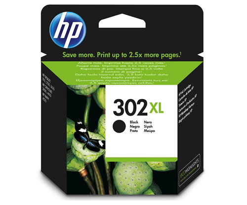 Tinteiro Original HP 302 XL Preto 8,5ml ~ 480 Paginas