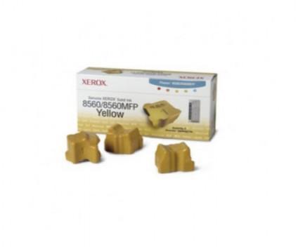 3 Toners Originais, Xerox 108R00725 Amarelo ~ 3.400 Paginas