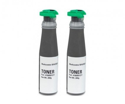 2 Toners Compativeis, Xerox 106R01277 Preto ~ 5.000 Paginas