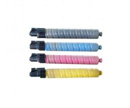4 Toners Compativeis, Ricoh 88864X / 84203X Preto + Cor ~ 20.000 / 15.000 Paginas