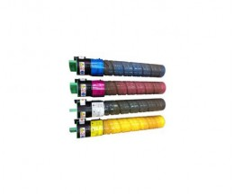 4 Toners Compativeis, Ricoh 84112X Preto + Cor ~ 20.000 / 16.000 Paginas
