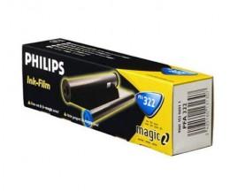 Rolo de Transferencia Termica Original Philips PFA322 Preto ~ 150 Paginas