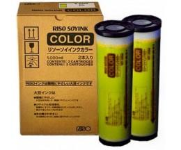 Tinteiro Original Riso S4391E Amarelo 1000ml