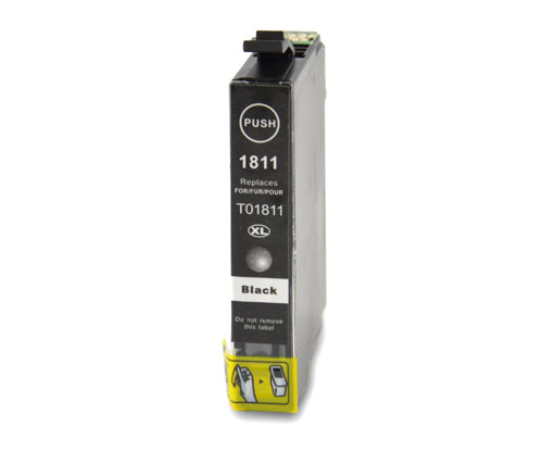 Tinteiro Compativel Epson T1801 / T1811 / 18 XL Preto 17ml