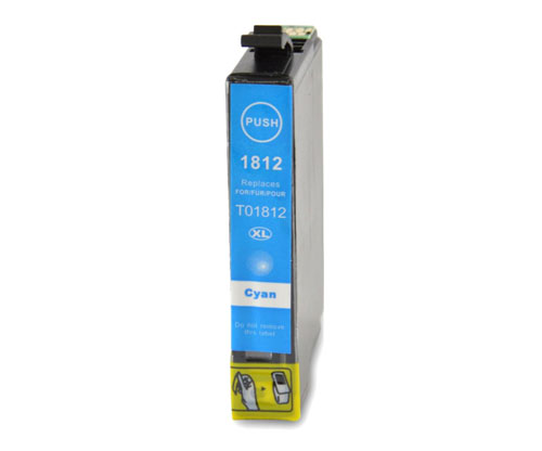Tinteiro Compativel Epson T1802 / T1812 / 18 XL Cyan 13ml