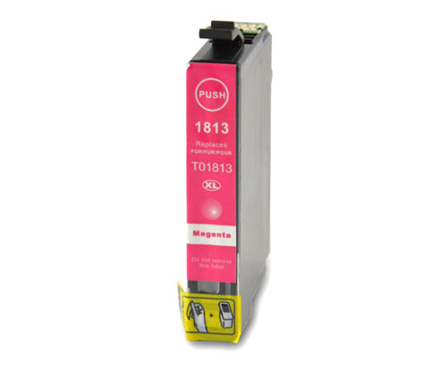 Tinteiro Compativel Epson T1803 / T1813 / 18 XL Magenta 13ml