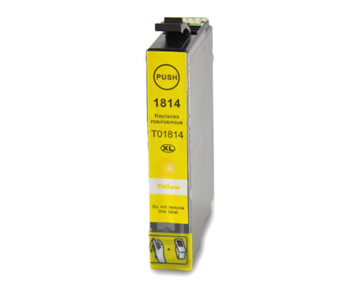 Tinteiro Compativel Epson T1804 / T1814 / 18 XL Amarelo 13ml