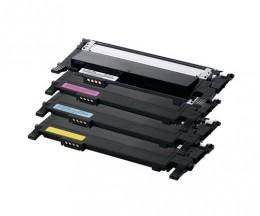 4 Toners Compativeis, Samsung 406S Preto + Cor ~ 1.500 / 1.000 Paginas