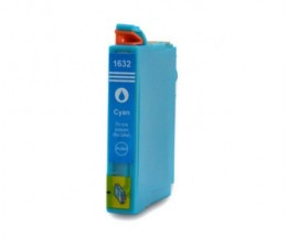 Tinteiro Compativel Epson T1622 / T1632 / 16 XL Cyan 11.6ml