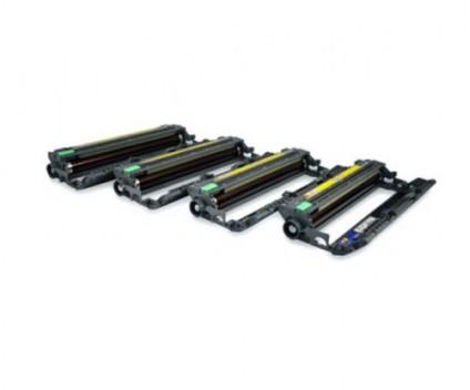 4 Tambores Compativeis, Brother DR-230CL BK / C / M / Y ~ 15.000 Paginas