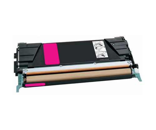 Toner Compativel Lexmark C734A1MG / C736H1MG Magenta ~ 6.000 Paginas