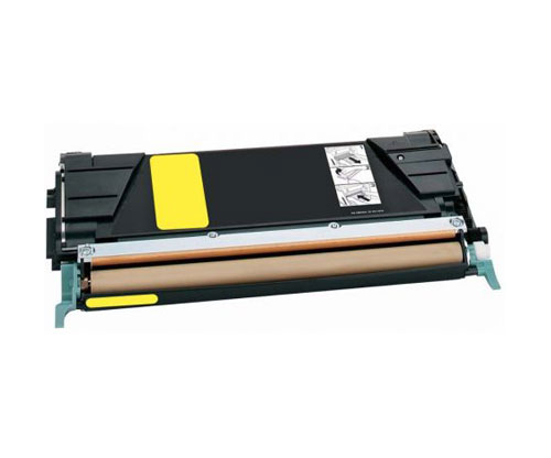 Toner Compativel Lexmark C734A1YG / C736H1YG Amarelo ~ 6.000 Paginas