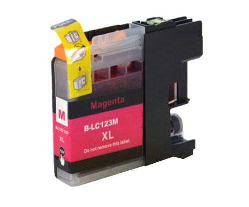 Tinteiro Compativel Brother LC-121 M / LC-123 M Magenta 10ml