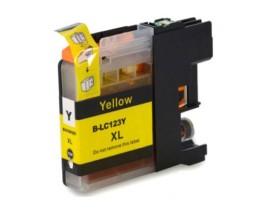 Tinteiro Compativel Brother LC-121 Y / LC-123 Y Amarelo 10ml