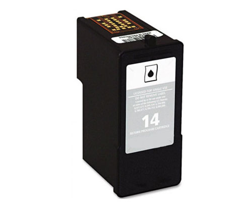Tinteiro Compativel Lexmark 14 Preto 21ml