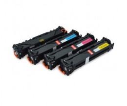 4 Toners Compativeis, HP 131X Preto + HP 131A Cor ~ 2.200 / 1.400 Paginas