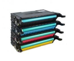 4 Toners Compativeis, Samsung 6092S Preto + Cor ~ 7.000 Paginas