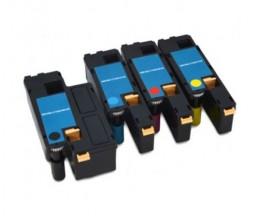 4 Toners Compativeis, DELL 5931112X Preto + Cor ~ 1.250 / 1.000 Paginas