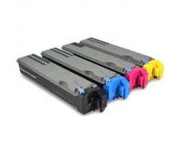 4 Toners Compativeis, Kyocera TK 510 Preto + Cor ~ 8.000 Paginas