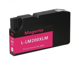 Tinteiro Compativel Lexmark 200 XL / 210 XL Magenta 32ml