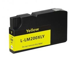 Tinteiro Compativel Lexmark 200 XL / 210 XL Amarelo 32ml