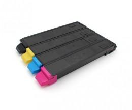 4 Toners Compativeis, Kyocera TK 8315 Preto + Cor ~ 12.000 / 6.000 Paginas