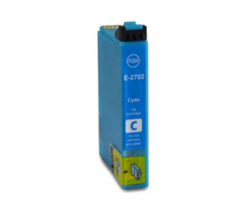 Tinteiro Compativel Epson T2702 / T2712 / 27 XL Cyan 15ml