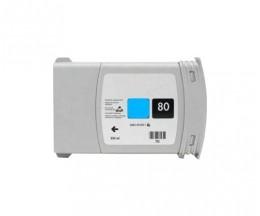 Tinteiro Compativel HP 80 Cyan 400ml