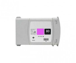 Tinteiro Compativel HP 80 Magenta 400ml
