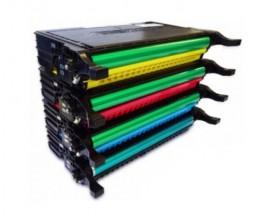 4 Toners Compativeis, DELL 5931036X Preto + Cor ~ 5.500 / 5.000 Paginas