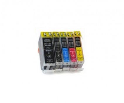 5 Tinteiros Compativeis, Canon BCI-3 / BCI-6 / BCI-5 Preto 26.8ml + Cor 13.4ml