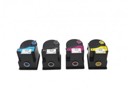 4 Toners Compativeis, Konica Minolta TN-310 Preto + Cor ~ 11.500 Paginas