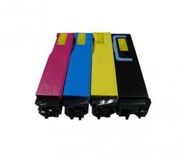 4 Toners Compativeis, Kyocera TK 540 Preto + Cor ~ 6.000 / 5.000 Paginas