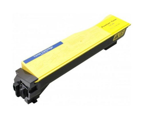 Toner Compativel Kyocera TK 540 Y Amarelo ~ 5.000 Paginas