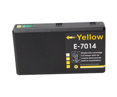 Tinteiro Compativel Epson T7014 / T7024 / T7034 Amarelo 35ml