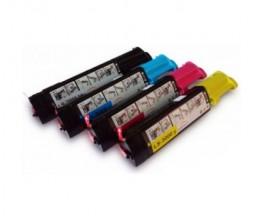 4 Toners Compativeis, DELL 5931006X Preto + Cor ~ 6.000 Paginas