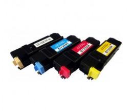 4 Toners Compativeis, DELL 5931025X Preto + Cor ~ 2.000 Paginas