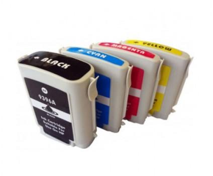 4 Tinteiros Compativeis, HP 88 XL Preto 80ml + Cor 35ml
